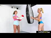 Sex Action Between Teen Naughty Lesbo Girls (Charlotte Stokely &amp_ Kenna James) video-10