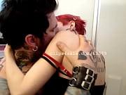 John and Hanna Kissing Video 3