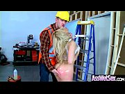 Oiled Girl (Ashley Fires) With Big Round Ass Like Anal Sex clip-08