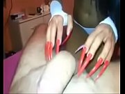 long sharp nails