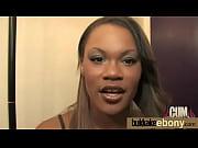 ebony babe in group sex hardcore.