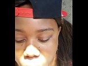 ebony necking in the cut
