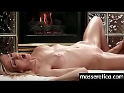 fingering orgasms during sensual lesbian sex.