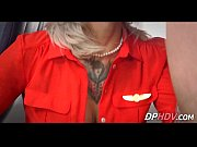 blonde babe with tats flight attendant fuck 4 1