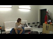 hot striptease by czech redhead teen