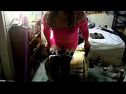pink dress black   nylons  princess heels.MP4