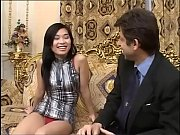 a young sensual asian girl is about to.