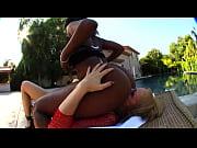milf massages a big black pussy