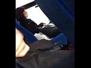 public bus handjob front of asien.