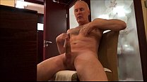 Ulf Larsen flash, shave, wank, watch porn & cum... Thumbnail