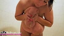 Alice 85JJ - Milky tits masturbation