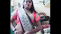 Swathi naidu exchanging dress and getting ready for shoot part-3