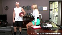 Brazzers - Aubrey Show gets pounded in the shower