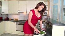 Emma Leigh Vs HUGE Cucumber - Who wins Thumbnail