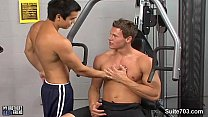 Hot gays fucking asses in the gym Thumbnail