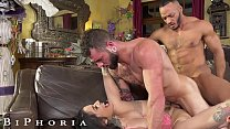 BiPhoria - Lucky Delivery Guy Seduced By Horny ...