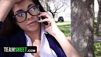 Download video bokep InnocentHigh Hot schoolgirl Ava Taylor in nerdy... 3gp terbaru