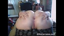 Hot Big White Booty more for free on 69Sexcams.net