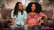 Open minded black couple going fort heir first ... Thumbnail