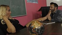 Mean Teacher Kylie Kingston - Foot Worship & Fa...
