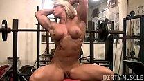 Female Bodybuilder Lisa Cross Naked Workout Thumbnail