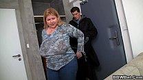 Fat girl skinny guy with big cock Thumbnail