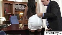 Sex Tape In Office With Slut Big Juggs Horny Gi...
