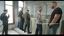 Cop gets in gay restroom extreme sex Thumbnail