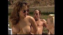 Ashlyn Gere & Tom Bryon outdoors