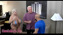 Huge Tit Claudia Marie Tore Up By Two Angry Men Thumbnail