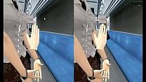 XXX simulator VR train gropped patreon.com/dragon972