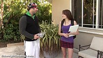 Teen Slut Gets Knocked Up By The Pool Guy! thumbnail