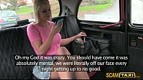 Sexy Sienna gets a blackmail fuck in the car in...