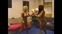 Blonde Brunette Catfight 2/3