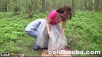 Mila Snow fuck in the woods ColdBoobs.Com