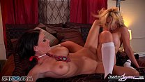 Jessica Jaymes and Nikki dive in to each others...