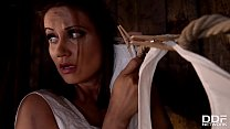Insanely Hot Theif Madlin Fucked in the Barn fo...