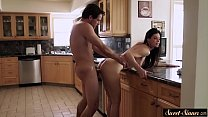 Amazing milf pounded by her horny stepson Thumbnail