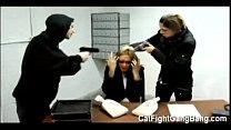 "Tori Lane in "" The Bank Job"" Lesbian Gangbang Thumbnail"