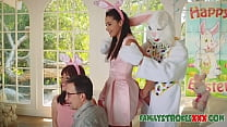 Easter Bunny Fucks Horny Teen