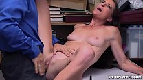 Hot milf moans hard as she gets pounded by the LP Officer!
