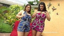 Angelina Castro & Lexxxi Lockhart Big Titted BJ... Thumbnail