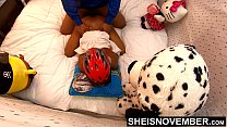 4k UHD Hardcore Ebony Sex Doggy Style Fucking B... Thumbnail