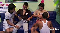 TWINK BOY MEDIA All Asian Twink Foursome Thumbnail