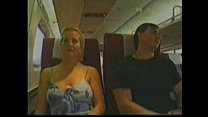 Blonde Groped on Train Thumbnail