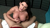 Sexy MILF Lap Dance with Edging Handjob and Tit...