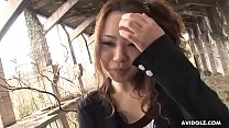 Japanese amateur, Namie got fucked hard by a stranger, uncensored Thumbnail