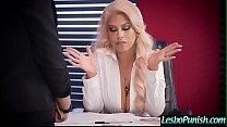 Sexy Girls (Kristina Rose & Bridgette B) Play Hard In Punish Lez Sex Act vid-24