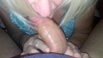 this me shelly sucking my fwb erics 8 inch cock. trying to deepthroat but its too big