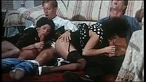 Italian vintage porn: hot foursome with Rocco S...